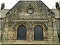 SE3130 : Hunslet cemetery - chapel entrance by Stephen Craven