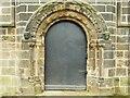 SE3130 : Hunslet cemetery - chapel north door by Stephen Craven