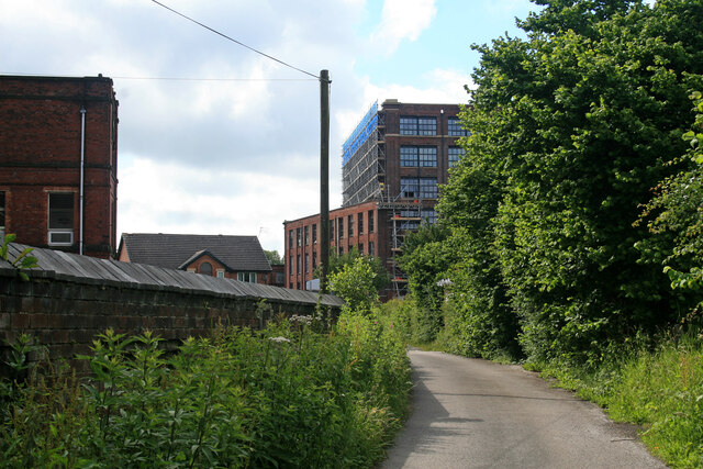 Mather Lane Mill, Leigh