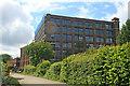 SJ6699 : Mather Lane Mill, Leigh by Chris Allen