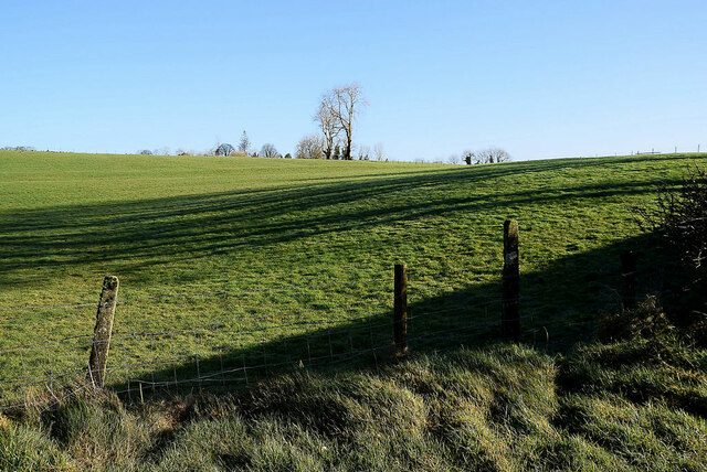 Shadows along a field, Tullyquin Glebe