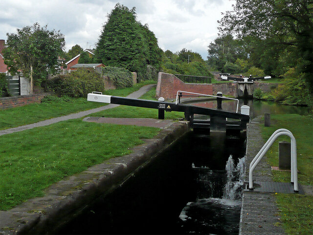 Stourbridge Locks No 6 near Buckpool, Dudley