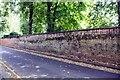 SK5640 : Cemetery wall on SE side of Cromwell Street by Luke Shaw