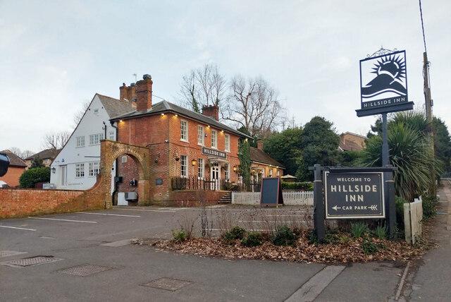 Hillside Inn, Pound Hill, Crawley by Robin Webster