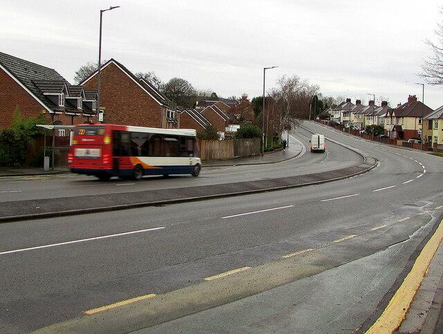 Stagecoach bus for Pontypool in Malpas, Newport by Jaggery