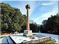 NY4654 : Wetheral Cross by Adrian Taylor
