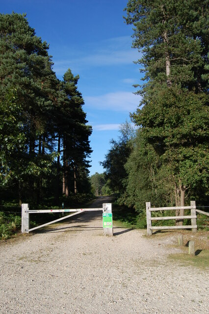 Entrance to Highland Water Inclosure