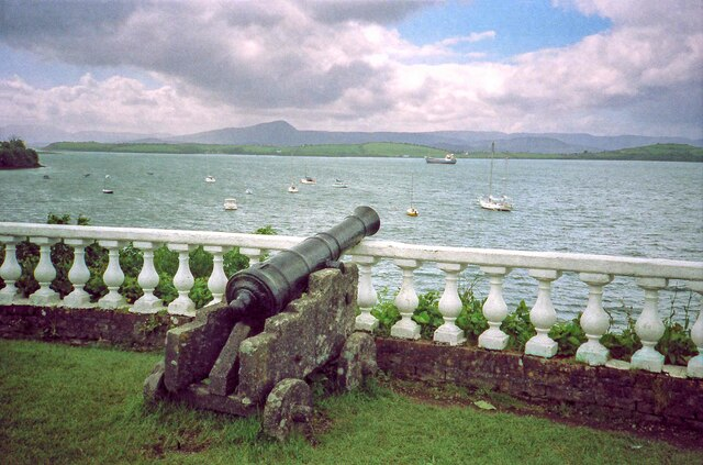 A Cannon at Bantry House - June 1994