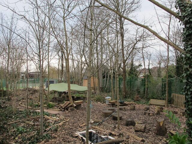 School environmental garden, Hanger Vale, Ealing