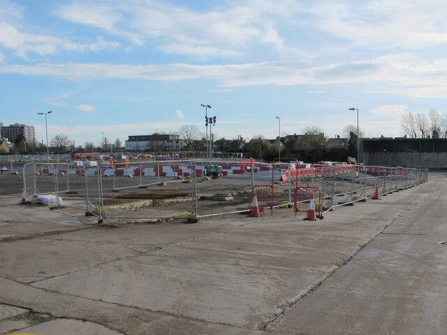 HS2 Victoria Road tunnel drive site