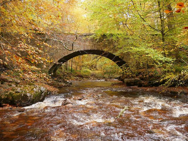 Greystone Bridge, Cawdor Wood