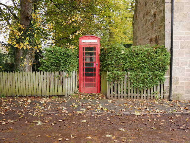 Telephone box, Cawdor