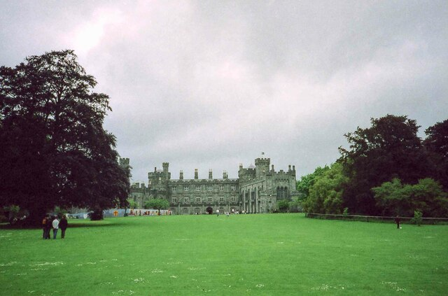 In the grounds of Kilkenny Castle - June 1994
