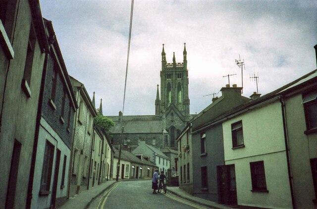 Black Mill Street heading towards St Mary's - June 1994