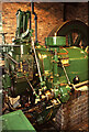 SK3588 : Sheffield Industrial Museum - large gas engine by Chris Allen