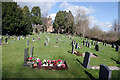 SP4877 : Newbold on Avon Churchyard by Stephen McKay