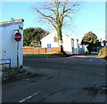 ST3092 : STOP sign, Malthouse Lane, Cwmbran by Jaggery