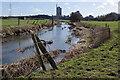 SP4876 : River Avon, near Newbold on Avon by Stephen McKay