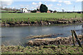 SP4876 : River Avon and Peninsular Farm by Stephen McKay