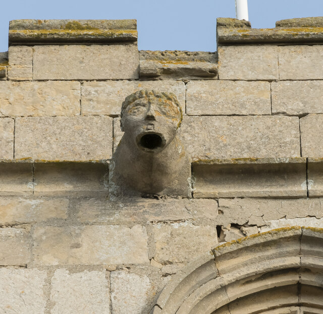 Gargoyle, St Andrew's church, Timberland