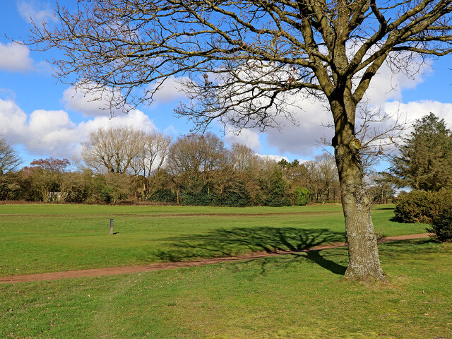 Golf course on Penn Common, Staffordshire