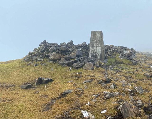 Summit of Beinn Edra