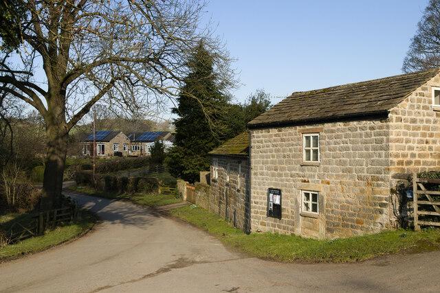 Castley Lane in Castley