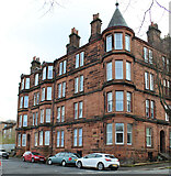 NS2776 : Red sandstone tenement on Houston Street by Thomas Nugent
