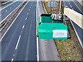 SD8205 : Traffic Flow Monitor over the M60 at Simister by David Dixon