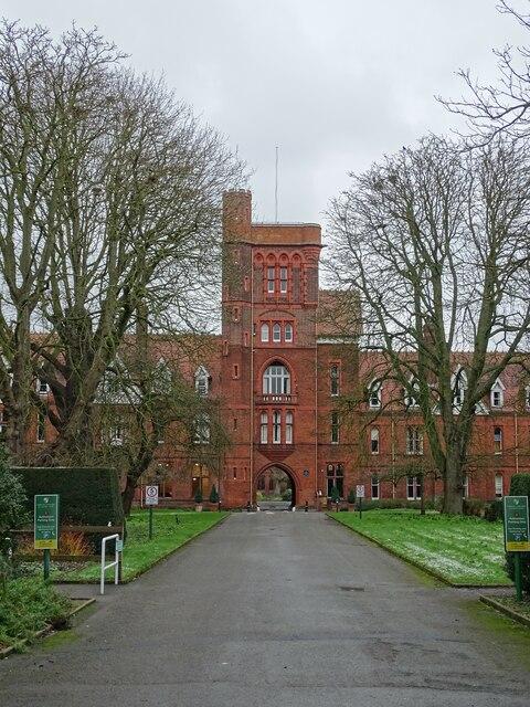 Girton College entrance