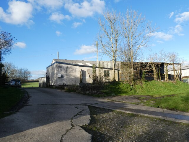 Outbuildings at Brownscombe Farm