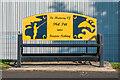 SO5174 : Memorial bench, Weeping Cross Lane by Ian Capper