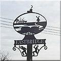TM4566 : Eastbridge village sign by Adrian S Pye