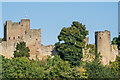 SO5074 : Ludlow Castle - Oven Tower and Mortimer's Tower by Ian Capper