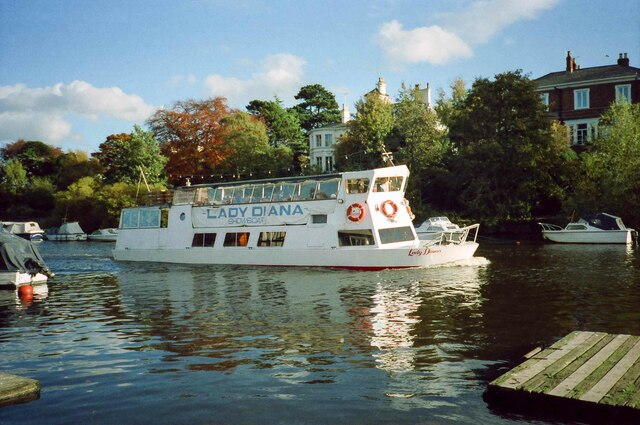 The Lady Diana Showboat on the River Dee