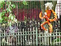 SJ9893 : Primary School Scarecrows (3) by Gerald England