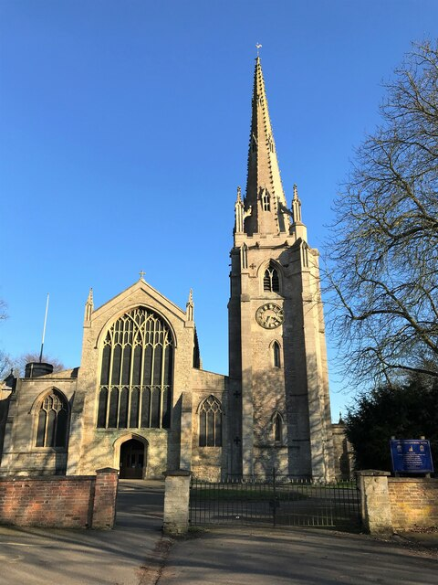The Church of St Mary and St Nicolas in Spalding