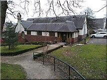 NS5568 : Gartnavel Royal Hospital Chapel by Robert Struthers