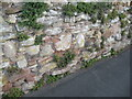 SO7192 : Wall, Castle Hill Walk by Adrian Taylor