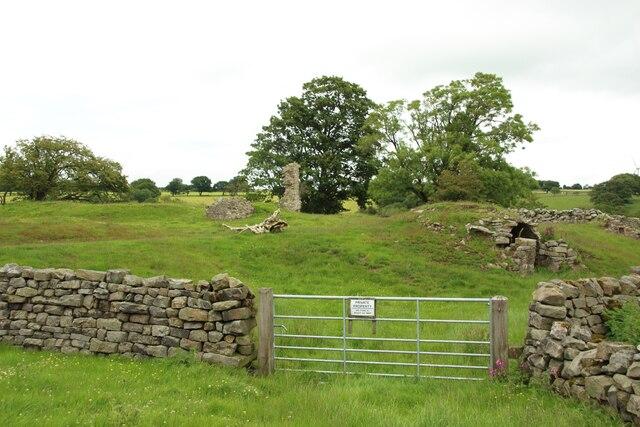 Remains of John O'Gaunt's Castle