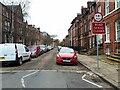 SE2934 : Lyddon Terrace - road closure notice by Stephen Craven