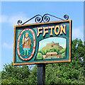 TM0649 : Offton village sign by Adrian S Pye