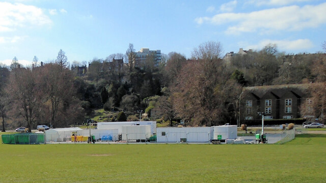 COVID Testing site, Preston Park