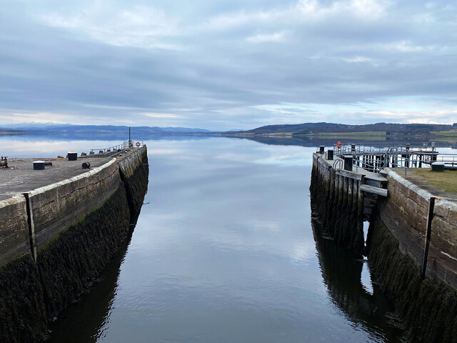 The northern extremity of the Caledonian Canal