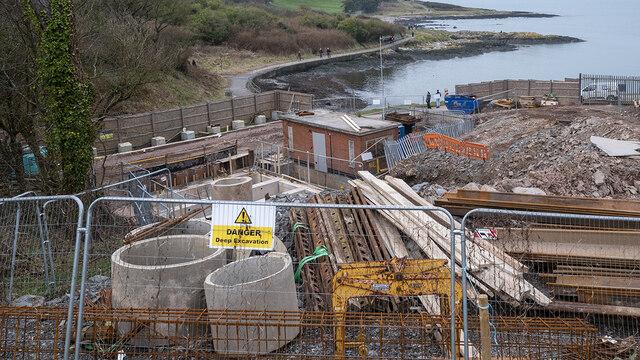 Sewerage works, Bangor