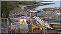 J4982 : Sewerage works, Bangor by Rossographer