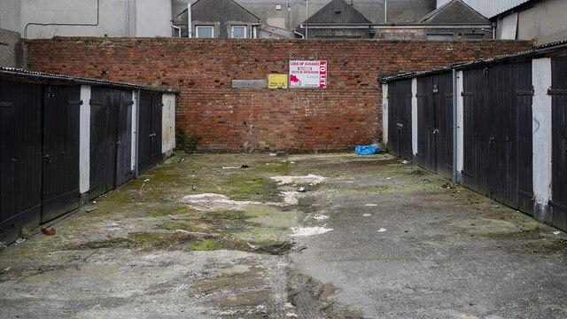 Lock up garages, Bangor