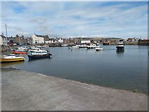 NO8785 : Stonehaven Harbour by Robert Struthers