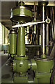 TA0434 : Cottingham Pumping Station - steam engine, governor by Chris Allen