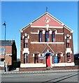 SJ9399 : Ashton under Lyne Independent Methodist Church by Gerald England